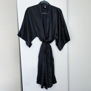 Victoria's Secret Black Kimono Robe